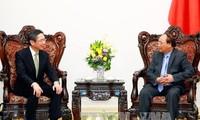 PM Nguyen Xuan Phuc menerima Presiden Direktur Bank BTMU dari Jepang