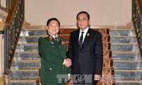 Memperkuat kerjasama pertahanan untuk mendorong hubungan Kemitraan Strategis Vietnam-Thailand
