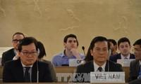 Vietnam menegaskan terus memberikan sumbangan aktif pada gagasan-gagasan internasional tentang penjaminan hak azasi manusia