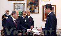 Presiden Libanon ingin mendorong lebih lanjut lagi hubungan yang baik dengan Vietnam