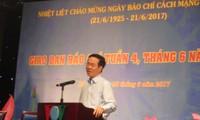 Pers selalu berjalan seperjalanan dengan usaha revolusi bangsa Vietnam