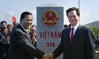 Vietnam-Kamboja memperkuat kerjasama untuk membangun garis perbatasan yang damai dan bersahabat