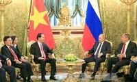 Garis politik hubungan luar negeri Vietnam adalah konsekuen dan terbuka lebar-lebar