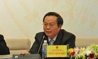 Komite Tetap MN membahas RUU tentang Administrasi Publik