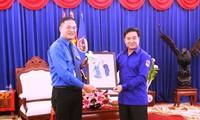Kaum muda Ibu Kota Hanoi memupuk persahabatan dan solidaritas istimewa Vietnam-Laos