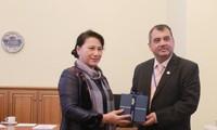 Vietnam merupakan pola dan memberikan sumbangan kepada keberhasilan demi perkembangan bersama IPU