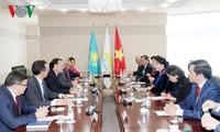 Ketua MN VN, Nguyen Thi Kim Ngan mengakhiri dengan baik kunjungan resmi di Republik Kazakhstan