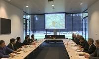 Delegasi Departemen Ekonomi KS PKV melakukan kunjungan kerja di Belanda