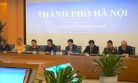 Konferensi nasional online tentang evaluasi pekerjaan keterbitan dan keselamatan lalu lintas tahun 2017 dan mencanangkan Tahun Keselamatan Lalu Lintas 2018
