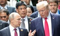 Beberapa poros hubungan internasional yang menonjol pada tahun 2017