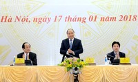 PM Nguyen Xuan Phuc menghadiri Konferensi evaluasi Kantor Pemerintah