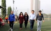 FIFA mengoperasikan proyek percobaan perkembangan sepak bola putri di Vietnam