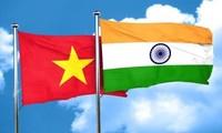 Mendorong hubungan kerjasama strategis dan komprehensif Vietnam-India