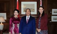 PM Nguyen Xuan Phuc mengakhiri kunjungan resmi di Selandia Baru