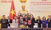 Ketua MN: Perlu memperkuat pembangunan dan penggelaran aktivitas pengawasan  yang dilakukan MN dan Front Tanah Air Vietnam