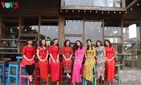 Memuliakan kecantikan kaum wanita Vietnam melalui Ao Dai terapan