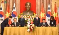 Pernyataan Bersama Vietnam dan Republik Korea mengarah ke  masa depan