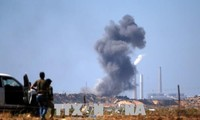 Israel memperhebat serangan udara terhadap Hamas di Jalur Gaza