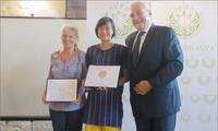 """Produk teh Viet Nam menerima penghargaan """"Teh Sedunia"""""""