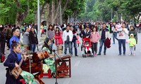 Musik di sektor kota kuno Ha Noi, satu ruang budaya yang menarik