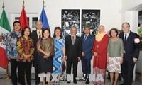 Kedutaan Besar Viet Nam untuk Meksiko memperingati ulang tahun ke-23 masuknya Viet Nam menjadi anggota ASEAN