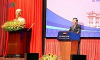 """Pembukaan Konferensi Nasional ke-19 tentang hubungan luar negeri: """"Berinisiatif, kreatif, mengabdi integrasi yang efektif dan perkembangan yang berkesinambungan"""""""