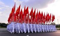 Pimpinan negara-negara terus mengirim surat dan tilgram ucapan selamat sehubungan dengan peringatan ulang tahun ke-73 Hari Nasional Viet Nam