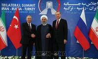 Konferensi puncak tentang Suriah: Pernyataan Bersama menekankan solusi politik