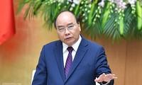 PM Nguyen Xuan Phuc memimpin sidang periodik Pemerintah