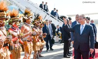 PM Nguyen Xuan Phuc tiba di Papua Nugini untuk menghadiri APEC-26
