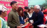 """Wakil Ketua MN Uong Chu Luu menghadiri program """"Hari Raya Tet yang berkumpul dengan keluarga"""" di Provinsi Thanh Hoa"""