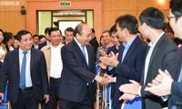 PM Nguyen Xuan Phuc melakukan temu kerja dengan Kementerian Perencanaan dan Investasi Vietnam