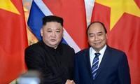 PM Nguyen Xuan Phuc melakukan pertemuan dengan Ketua RDRK, Kim Jong-un