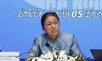 Ketua Parlemen Laos mengunjungi pola ekonomi grup di Viet Nam