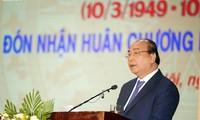 PM Nguyen Xuan Phuc menghadiri acara peringatan hari tradisi Akademi Kedokteran Militer