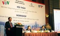 "Deputi PM Vuong Dinh Hue menghadiri lokakarya ""Pola pertumbuhan ekonomi Viet Nam tahap 2021-2030 dan visi 2045"""