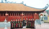Agar supaya lagu rakyat Quan Ho terus memancarkan sinar