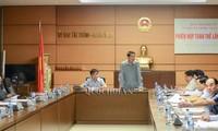 RUU tentang Ketenaga-kerjaan (amandemen) disampaikan di depan sidang ke-34 Komite Tetap MN Viet Nam