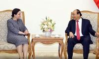 PM Nguyen Xuan Phuc menerima Sekretaris Negara Kemlu Rumania, Monica Gheorghita