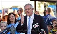 """Pemilihan Australia: PM Scott Morrison merayakan kemenangan """"ajaib"""""""