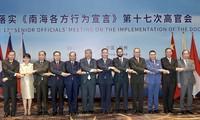 Viet Nam menghadiri Konferensi Pejabat Tinggi ASEAN-Tiongkok ke-17  tentang pelaksanaan DOC