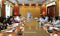 Front Tanah Air Viet Nam memperkuat pencegahan dan pemberantasan korupsi
