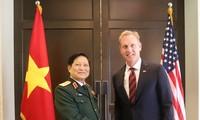 Menteri Ngo Xuan Lich melakukan pertemuan bilateral di sela-sela Dialog Shangri-La