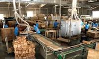 Mendorong badan usaha melaksanakan tanggung-jawab sosial dalam pengolahan kayu dan hasil perikanan