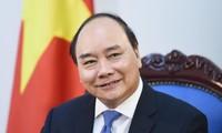 PM Nguyen Xuan Phuc menjawab interviu pers Jepang tentang kunjungan di Jepang dan kehadirannya pada KTT G20