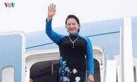 Ketua MN Nguyen Thi Kim Ngan mengakhiri dengan baik kunjungan resmi di Tiongkok