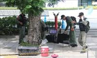 Ledakan bom di Bangkok: Polisi Bangkok menetapkan para tersangka