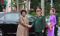 Menteri Pertahanan Viet Nam menyambut delegasi tingkat tinggi Kemhan Afrika Selatan