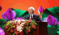 Upacara nasional memperingati ulang tahun ke-50 pelaksanaan Testamen Presiden Ho Chi Minh dan memperingati ulang tahun ke-50 wafatnya beliau