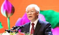 Sekjen, Presiden Nguyen Phu Trong mengirimkan surat ucapan selamat kepada instansi pendidikan sehubungan pembukaan tahun ajar baru